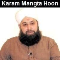 "Owais Raza Qadri Naat Album ""Karam Maangta Hoon"""