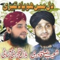 "Bilal Qadri & Shoaib Raza Qadri Naat Album  ""Dil Main Ho Yaad Teri"""