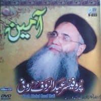 """Prof Abdul Rauf Rufi Naat Album """"Aameen """""""